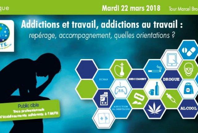 Retour sur la journée - Addictions et travail, addictions au travail - 22 mars 2018