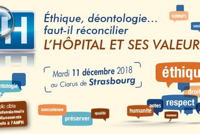 Journée régionale valeurs hospitalières
