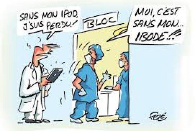 IBODE : REPORT DE L'APPLICATION DES ACTES EXCLUSIFS
