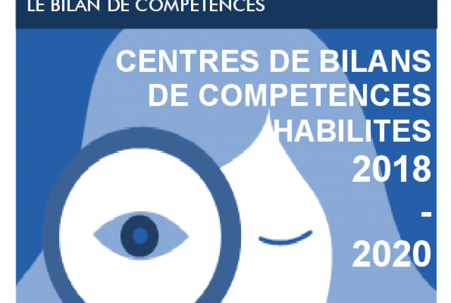 LISTE DES ORGANISMES BILANS DE COMPÉTENCES HABILITÉS - 2018
