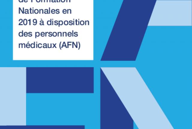 Les actions de formation nationales (AFN) accessibles aux praticiens
